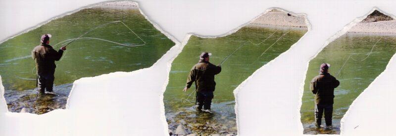 Floden Drau i Østrig, hold ferie hvor der mange Stallinger dengang, nogle steder var vandet nærmest sort af fisk.