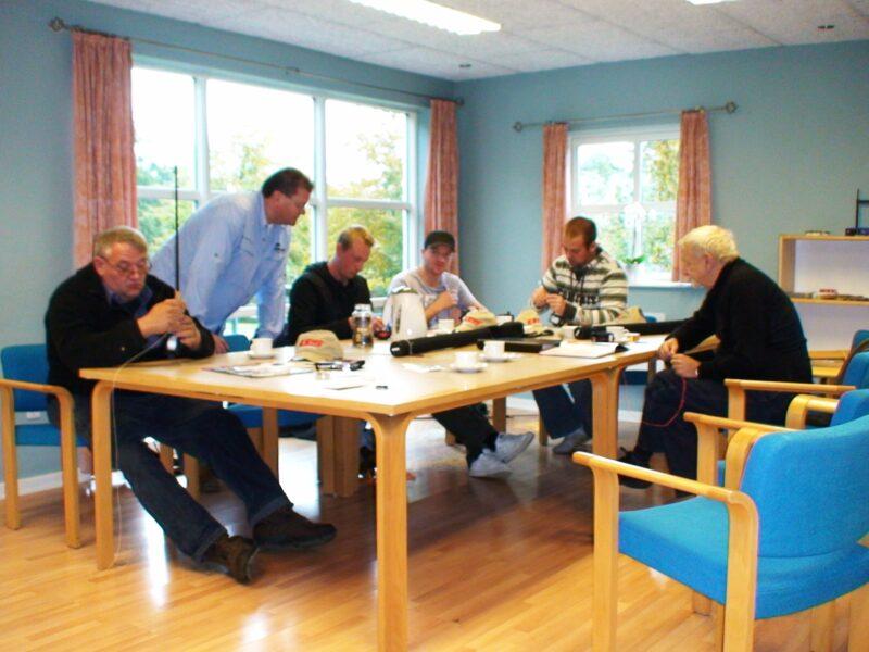 Kursuslokalet i Lille Grynborg Bed & Breakfast